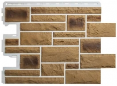 Фасадная панель Камень Пражский (цвет 02)